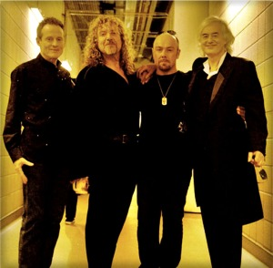 Οι Led Zeppelin όπως εμφανίστηκαν στο live εις μνήμην του προ�δρου της Atlantic Records την 10/12/2007 στο Λονδίνο, με τον γιο του εκλιπόντος John Bonham στα drums.
