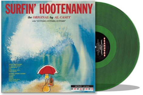 AL-CASEY---SURFIN-HOOTENANNY-2016-RSD-Green-LP-0a